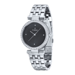 Fjord - Stainless Steel Black Bracelet Watch