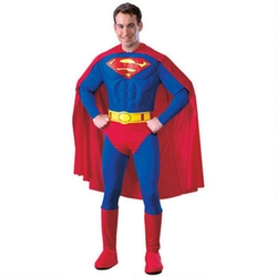 Warner Brothers - Superman Deluxe Adult Costume