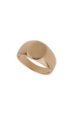 Topshop - Signet Band Ring