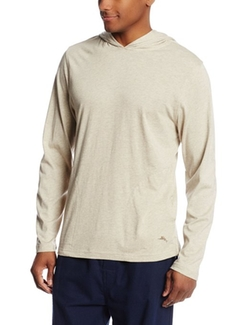 Tommy Bahama  - Heather Jersey Knit Pullover Hoodie