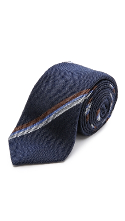Alexander Olch - Striped Silk Necktie