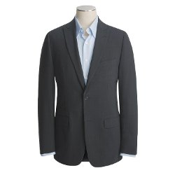 John Varvatos Star USA  - Waffled Glen Plaid Sport Coat