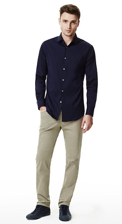 Dover Spread  - Dress Shirt in Luxe Cotton Blend
