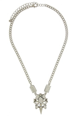 The Jewel Rack - Spike Jewel Pendant Necklace
