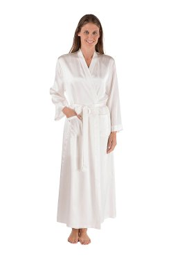 TexereSilk - Silk Robe Bathrobe