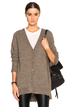 Pam & Gela  - Zip Back Cardigan Sweater
