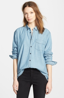 Madewell - Chambray Boyfriend Shirt