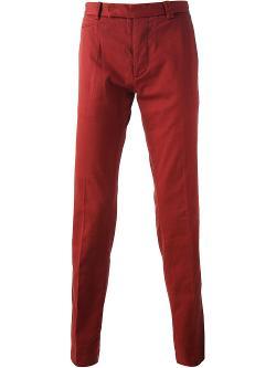Fendi  - Straight Leg Chino Trousers