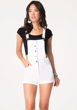 Bebe - High Rise Shortalls