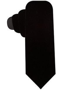 Ryan Seacrest Distinction  - Velvet Solid Slim Tie