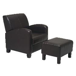 Home Star - Products Metro Chair & Ottoman Set