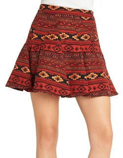 BCBGeneration - Flared Mini Skirt