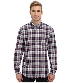 Nautica - Red Plaid Oxford Twill Woven Shirt