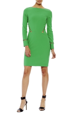 Nicole Miller - Long Sleeve Loop Dress