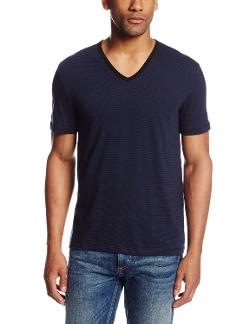 John Varvatos - Short-Sleeve V-Neck Tee Shirt