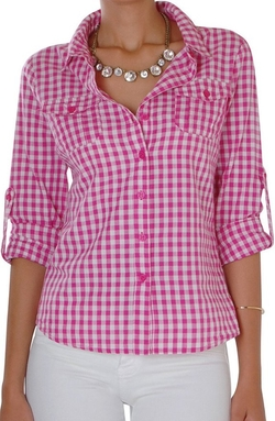 Humble Chic - Gingham Shirt