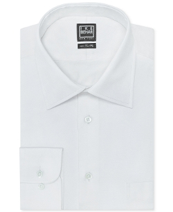 Ike Behar Solid Dress Shirt - Solid Dress Shirt