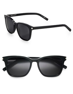 Saint Laurent  - Acetate Wayfarer Sunglasses