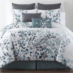 Liz Claiborne - Silhouette Floral 4-Pc. Comforter Set