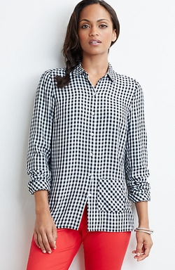 J. Jill - Gingham Easy Shirt