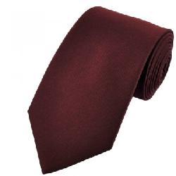 Ties Planet - Plain Maroon Tie