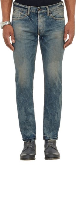 Simon Miller  - Dayton Washed Denim Pants
