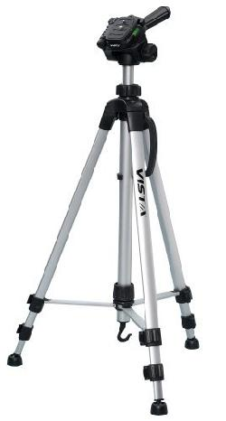 Davis & Sanford - Vista Explorer 60-Inch Lightweight Tripod with Tripod Bag