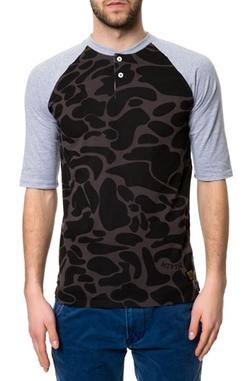 Bronx  - Henley Baseball Shirt