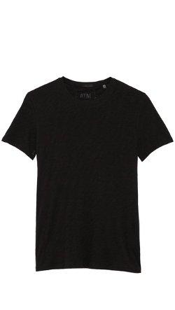 ATM Anthony Thomas Melillo -  Crew Neck Slub Jersey T-Shirt