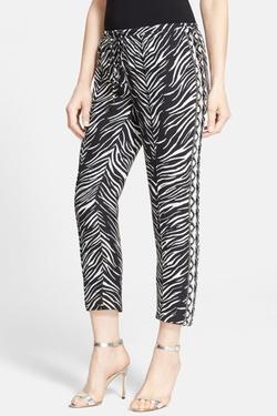 Haute Hippie - Embellished Tuxedo Stripe Pants