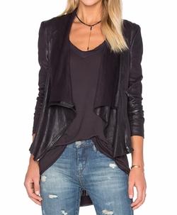 BlankNYC - Drape Front Jacket