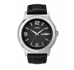 Timex - Leather Strap Watch