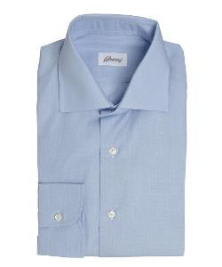 Brioni - Light Blue Adera William Spread Collar Dress Shirt