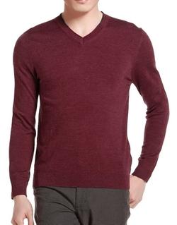 Generic - Daily Long-Sleeve V-Neck Shirt