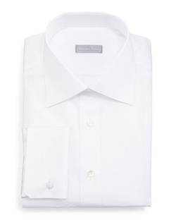 Stefano Ricci	  - Tonal-Stripe Dress Shirt