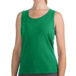 August Silk - Knit Shell Sleeveless