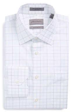 John W. Nordstrom - Traditional Fit Check Dress Shirt