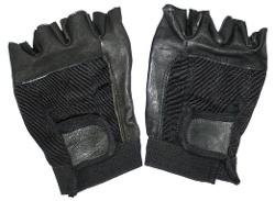 Truman & Sons - Fingerless Leather Gloves