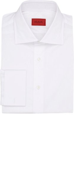 Isaia Poplin  - Dress Shirt