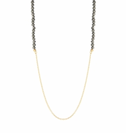 Lord & Taylor - Bead Accented Opera Necklace
