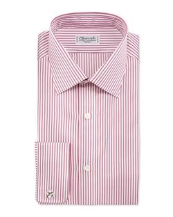 Charvet - Striped French-Cuff Dress Shirt
