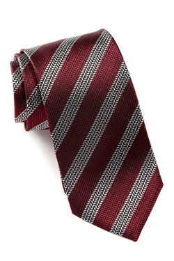 Hugo Boss  - Silk Tread Stripe Tie