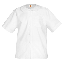 School Apparel - Peter Pan Collar School Uniform Blouse