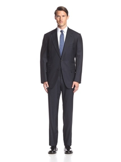 Tom Ford - Tonal Stripe Notch Lapel Suit