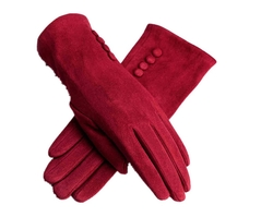 Line Walker - Suede Gloves
