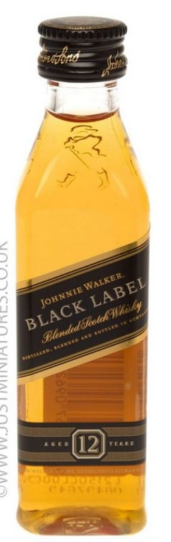 Johnie Walker - Black Label Whiskey Miniature