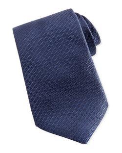 ERMENEGILDO ZEGNGA - Woven Textured Silk Tie