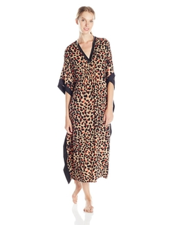 Anne Klein - Long V Neck Caftan