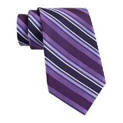 Claiborne - Tom Textured Stripe Tie