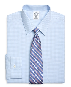 Brooks Brothers - Non-Iron Regent Fit Check Dress Shirt